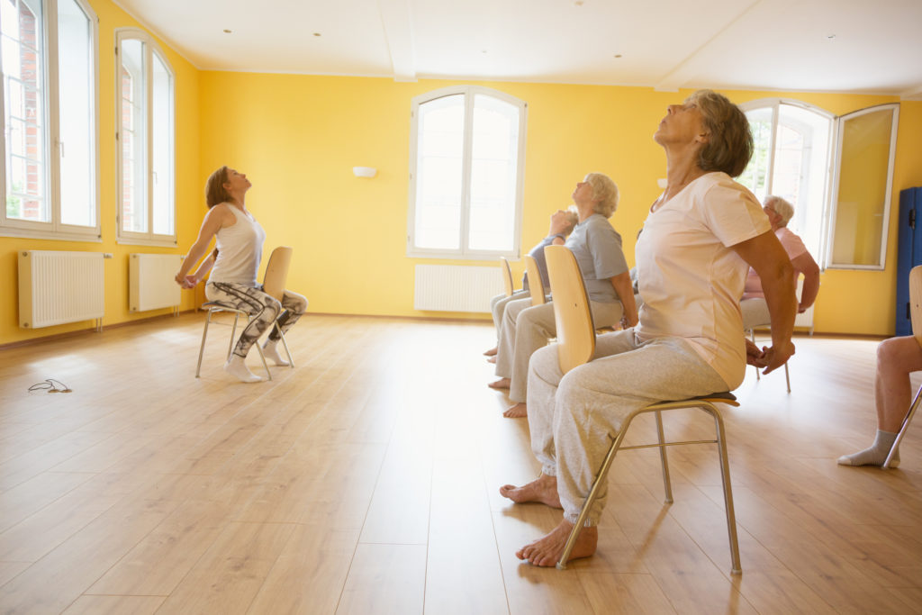 Sole Touch - Chair Based Aerobics - Community Activities